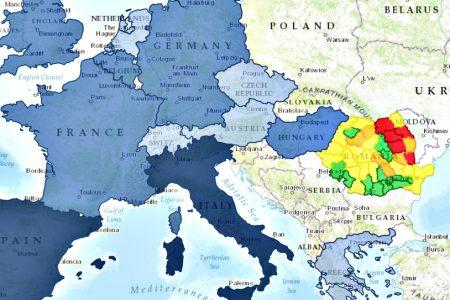 Harta emigrantului roman. Unde vor sa plece lucratorii din tara noastra?