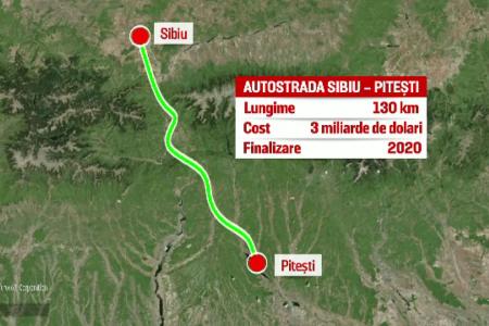 Drumuri pe hartie: Studiul revizuit pentru Autostrada Sibiu – Pitesti, de 6 ori mai scump decat cel initial