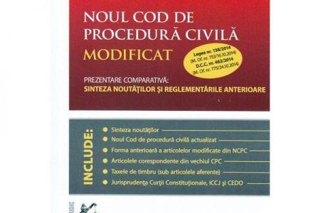 Avocatii explica Noul Cod de Procedura Civila
